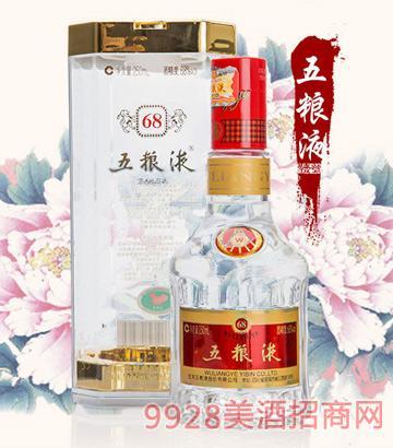 五粮液浓香型白酒68°250ml