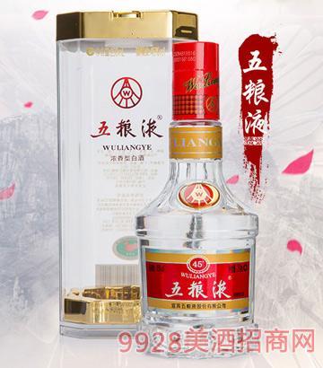 五粮液浓香型白酒45°250ml