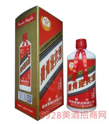 贵州迎宾酒52度500ml浓香型