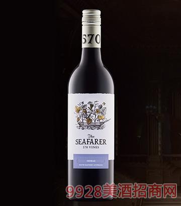 航海家570西拉子干红葡萄酒750ml