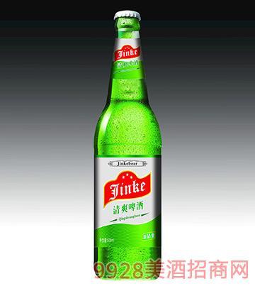 金稞清爽啤酒瓶装啤酒500ml