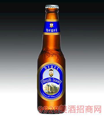 黑格尔精酿啤酒瓶装330ml蓝标