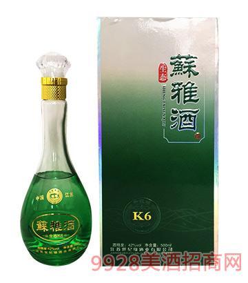 世纪缘生态苏雅酒K6升版42度500ml