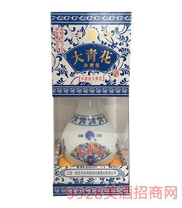 世纪缘大青花珍藏版42度480ml浓香型