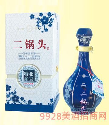 京小二二��^20年年份酒52度500mlx6清香型
