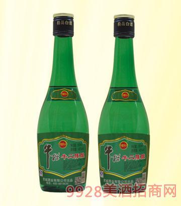 牛栏牛二陈酿酒42度250mlx20浓香型
