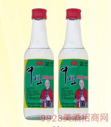 中栏山陈酿酒42度260mlx20浓香型
