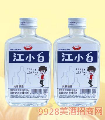 牛栏宴江小百小酒42度100mlx24浓香型