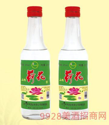 牛栏宴小池荷花酒42度260mlx20浓香型