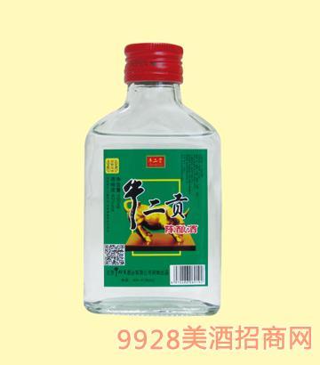 牛栏宴牛二贡酒陈酿42度100mlx40浓香型