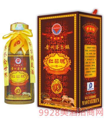 茅台镇红粱魂十五年53度酱香型500ml