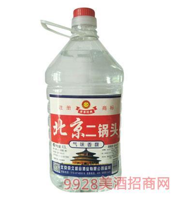 崇门楼北京二锅头酒42度4.5Lx4清香型