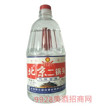 崇门楼北京二锅头酒42度2Lx6清香型
