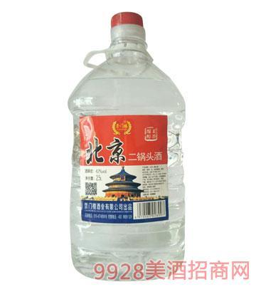 崇门楼北京二锅头酒42度2.5Lx6