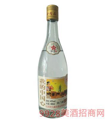崇门楼北京故事酒我的中国心43°480ml