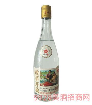 崇门楼北京故事酒改革开放43°480ml