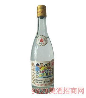 崇门楼北京故事酒奥运2008-43°480ml