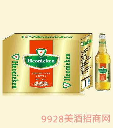 荷兰皇 家喜力啤酒瓶装啤酒500mlx12