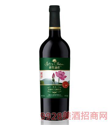 荷花酒莊赤霞珠干紅葡萄酒精品750ml