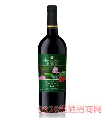 荷花酒莊赤霞珠干紅葡萄酒國尊750ml