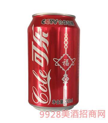 三发可乐饮料福320ml