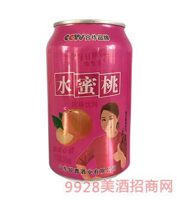 三发水蜜桃果味饮料320ml