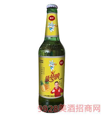 雪仔菠萝啤果味饮料500ml