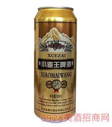 雪仔啤酒小麦王啤酒8°P 500ml