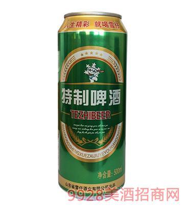 雪仔啤酒特制啤酒8°P 500ml