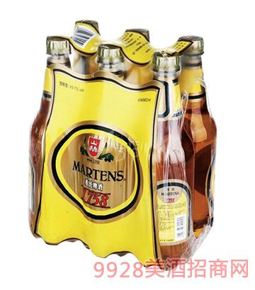 ��氏啤酒清爽啤酒8°P 660mlx6x4