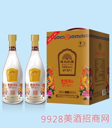 喜玛拉雅青稞酒头42度450mlx4清香型