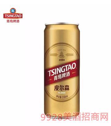 青島啤酒皮爾森330ml