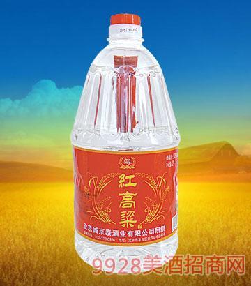 京泰红高粱酒50度2L