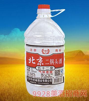 牛栏峪北京二锅头52度2L