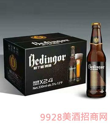 柏丁格精酿啤酒10度330mlx24 12°P