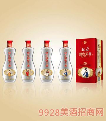 杜康国色天香酒天香6年42度450ml