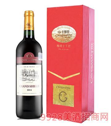 卡斯特格朗士干红葡萄酒
