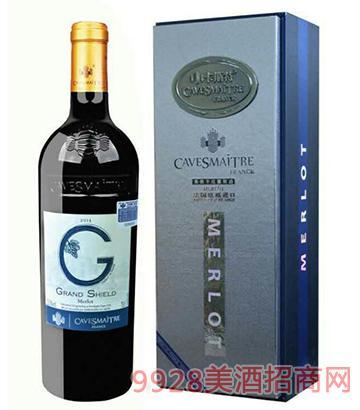 卡斯特格朗士美洛干红葡萄酒