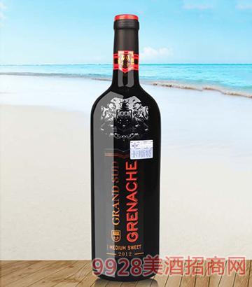卡斯特格朗士歌海娜干红葡萄酒