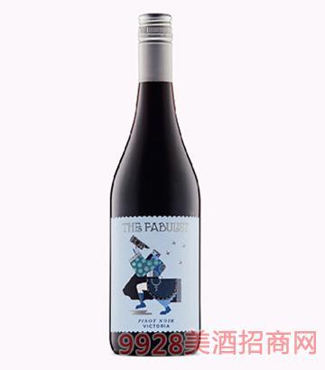 寓言家黑皮诺干红葡萄酒14度750ml