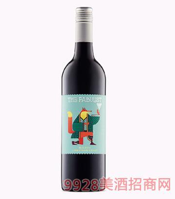 寓言家馬爾貝克干紅葡萄酒13.5度750ml