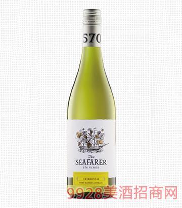 航海家570霞多丽干白葡萄酒13度750ml