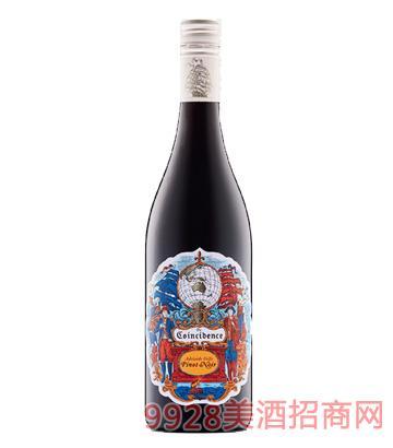 邂逅黑皮诺干红葡萄酒14.5度750ml