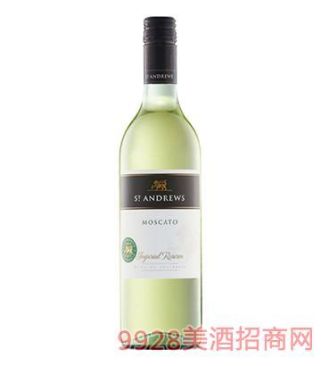 圣安德鲁斯莫斯卡托干白葡萄酒13度750ml