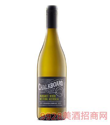 黑板霞多丽干白葡萄酒(玛格利特河)14度750ml