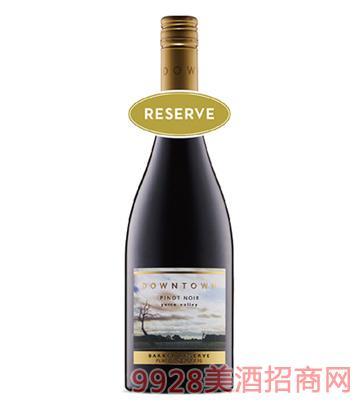 都会区珍藏黑皮诺干红葡萄酒14度750ml