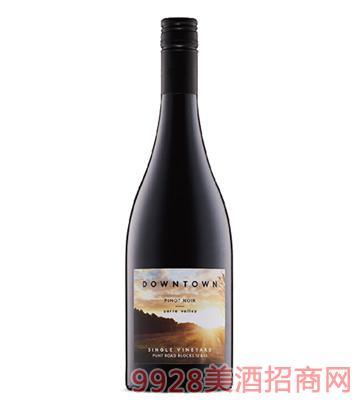都会区黑皮诺干红葡萄酒14度750ml