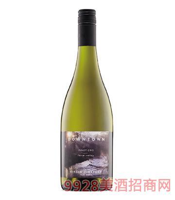都会区灰皮诺干白葡萄酒12度750ml