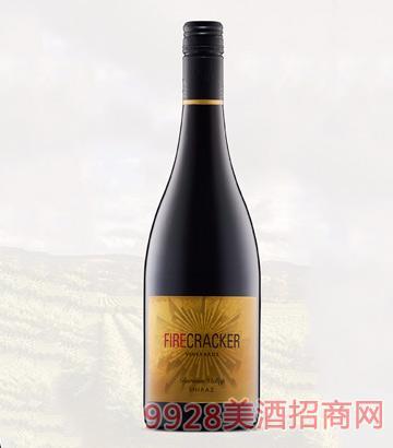烟花西拉干红葡萄酒750ml
