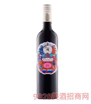 邂逅巴罗萨谷GSM干红葡萄酒750ml